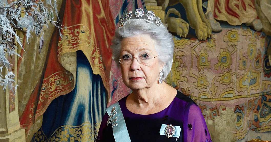 prinsessan christina kommer inte på Nobelfesten 2019