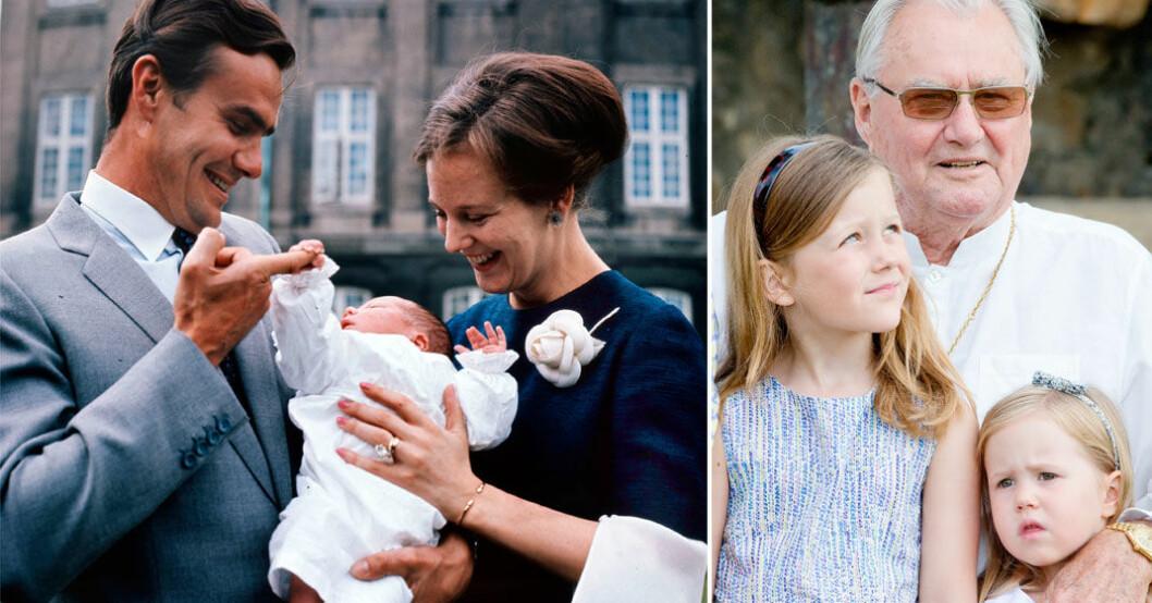 Åtta kärleksfulla ögonblick från prins Henriks liv