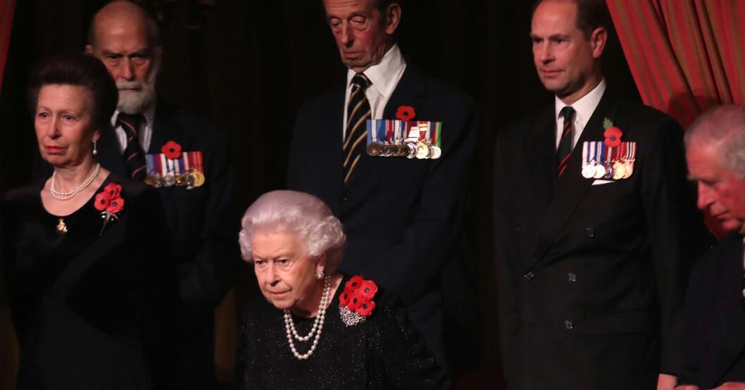 Prins Michael och drottning Elizabeth