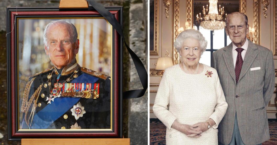 Prins Philips begravning i Windsor Castle – drottning Elizabeths sorg