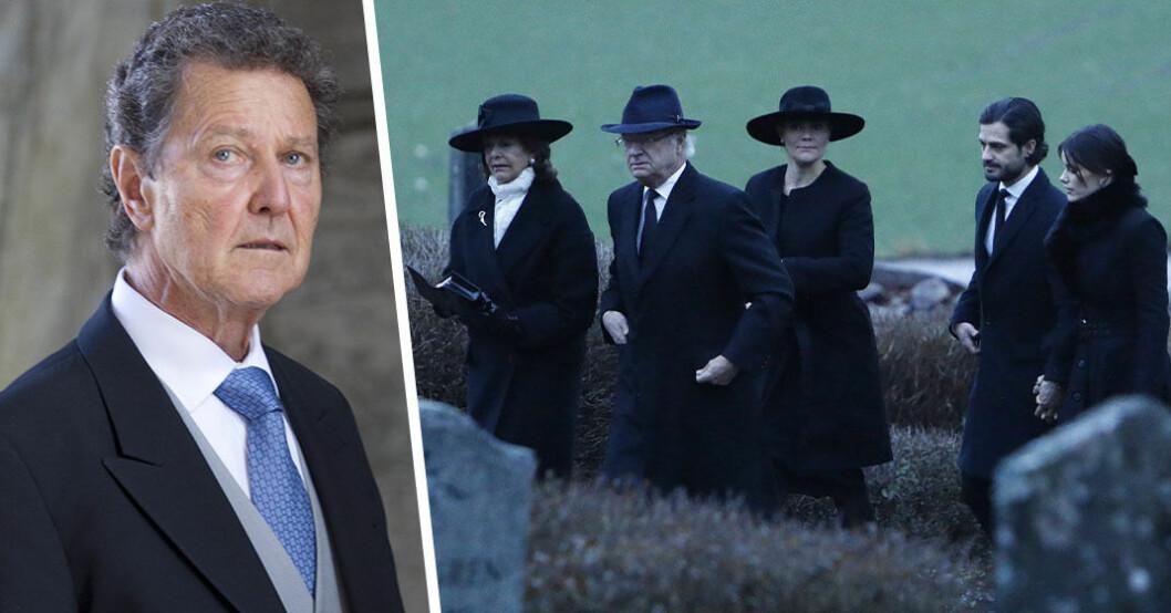 Så var Walther Sommerlaths begravning