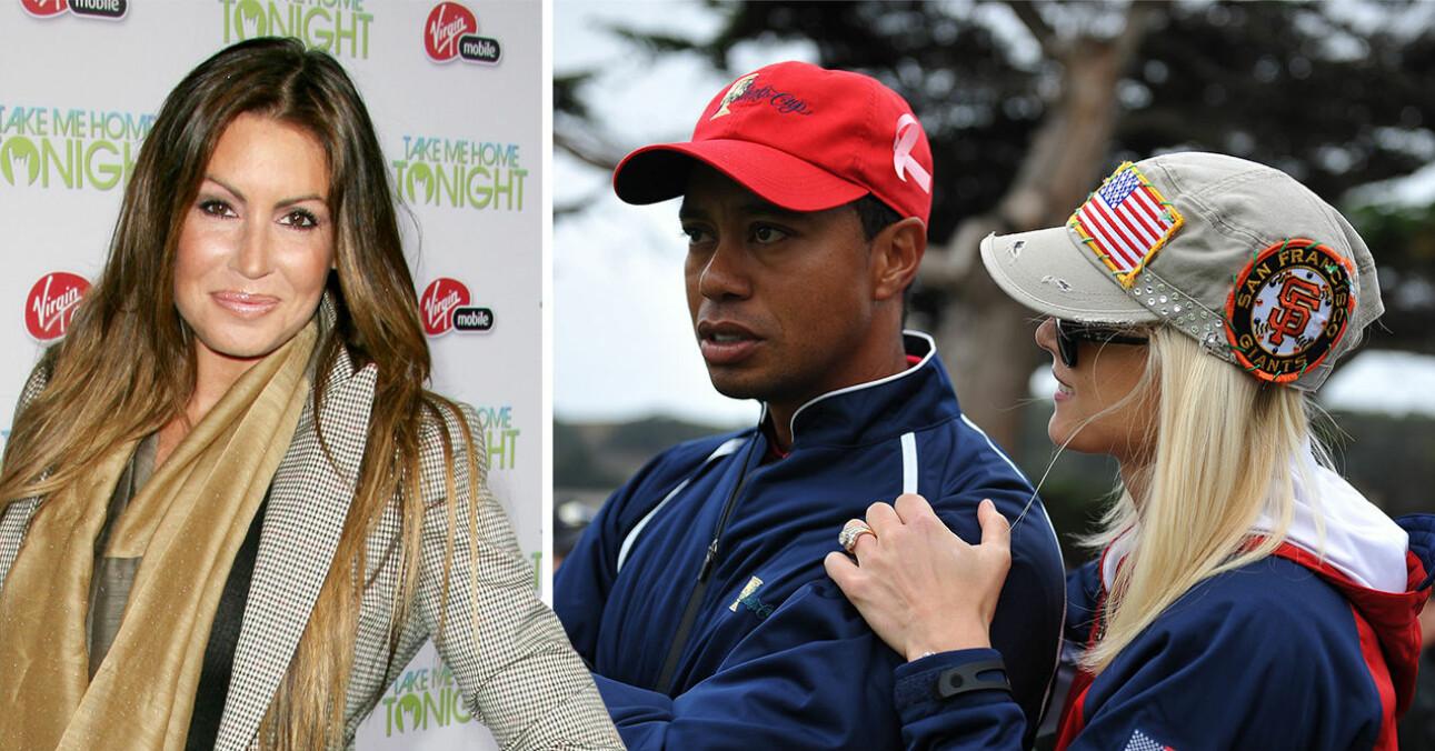 Rachel Uchitel, Tiger Woods, Elin Nordgren