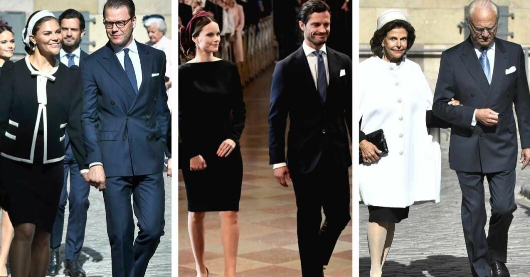 Kungafamiljen på Riksmötet 2019
