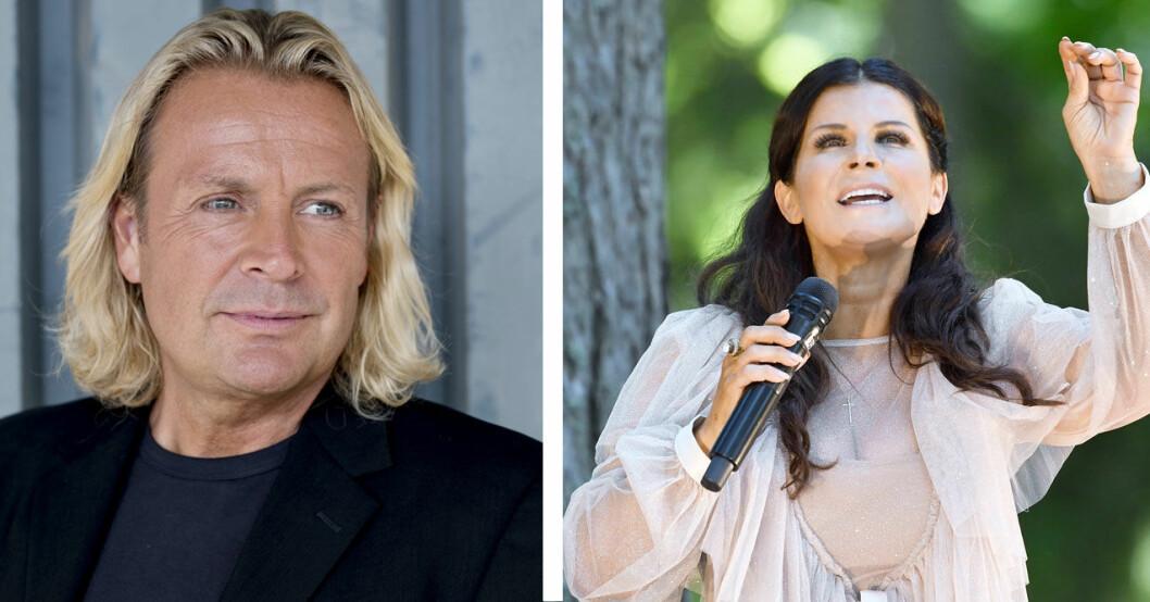 Runar Sögaard och Carola.