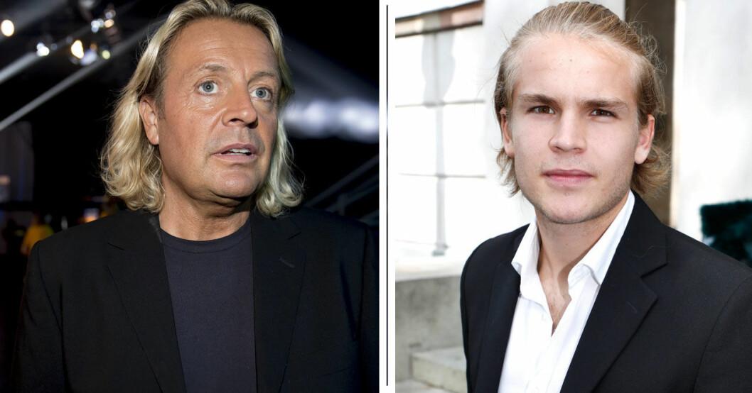 Visst är de ganska lika varandra, far och son?