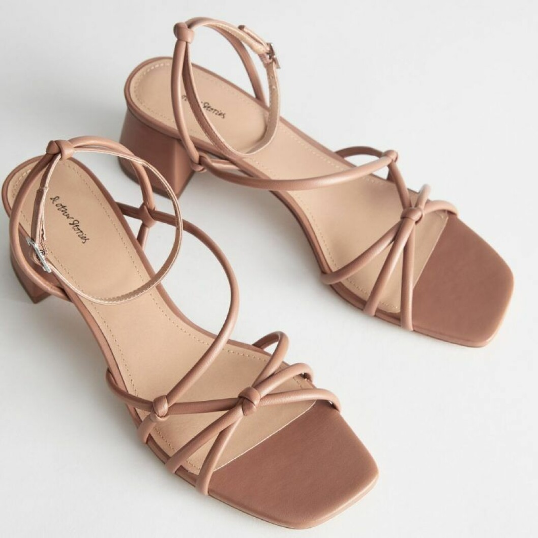 Sandaler med smala remmar från & Other Stories