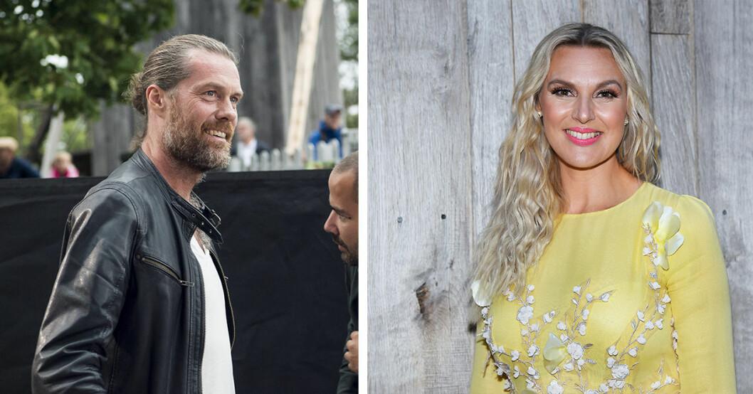 Joakim Ramsell och Sanna Nielsen