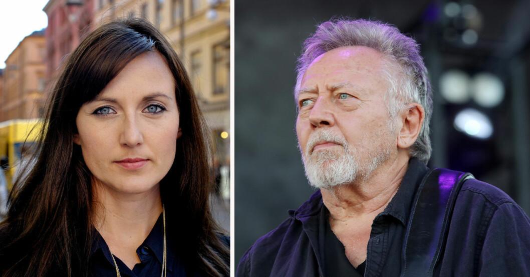 Sanna Lundell och Ulf Lundell