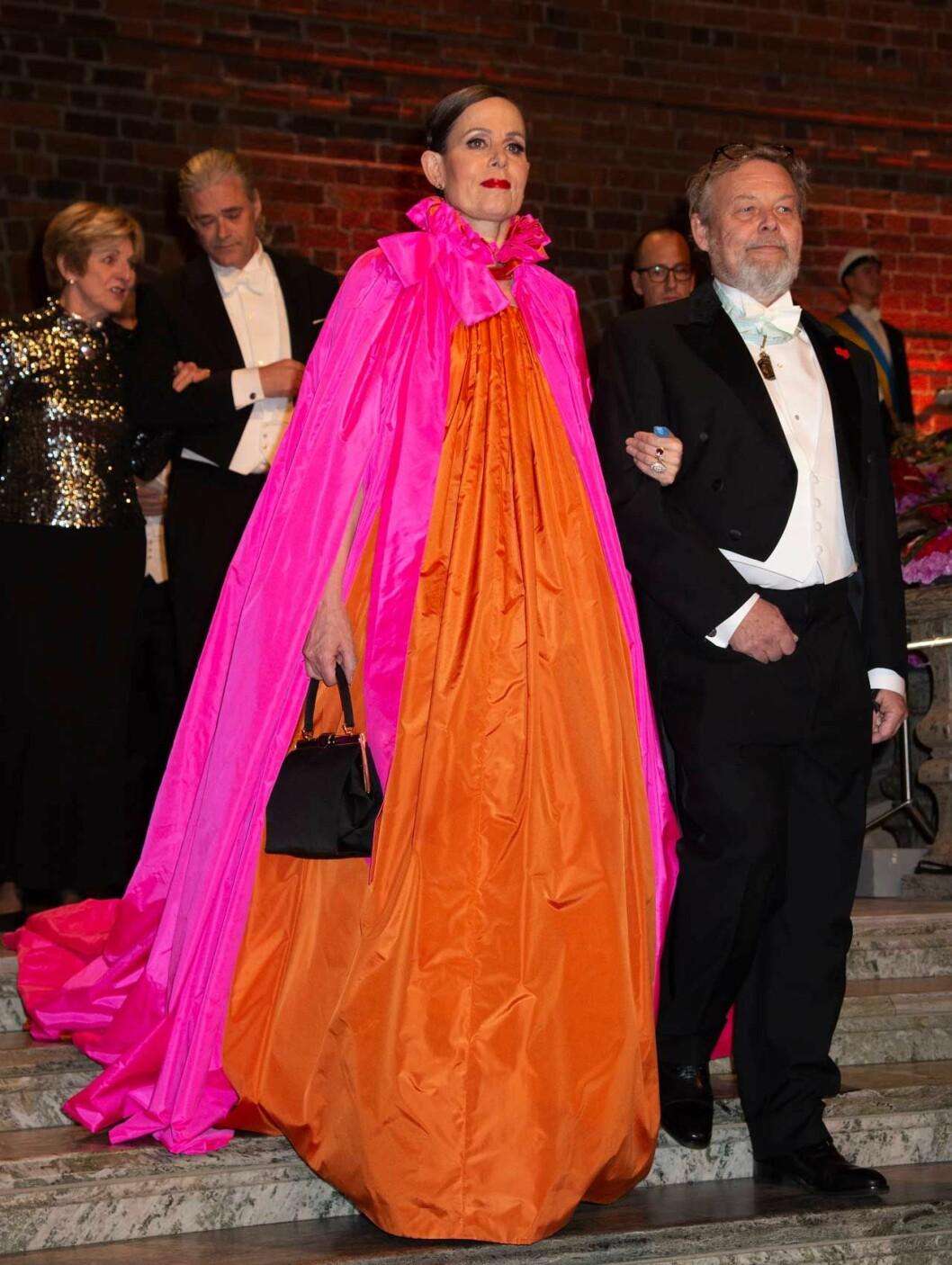 Sara Danius häftiga Nobelklänning.