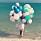 prinsessan leonore på stranden med ballonger