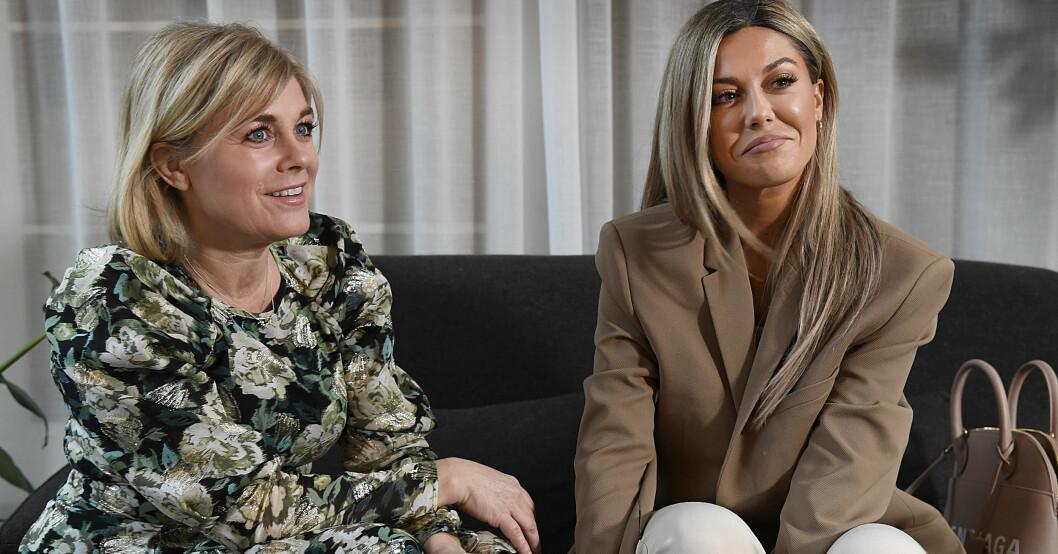 Pernilla Wahlgren och Bianca Ingrosso