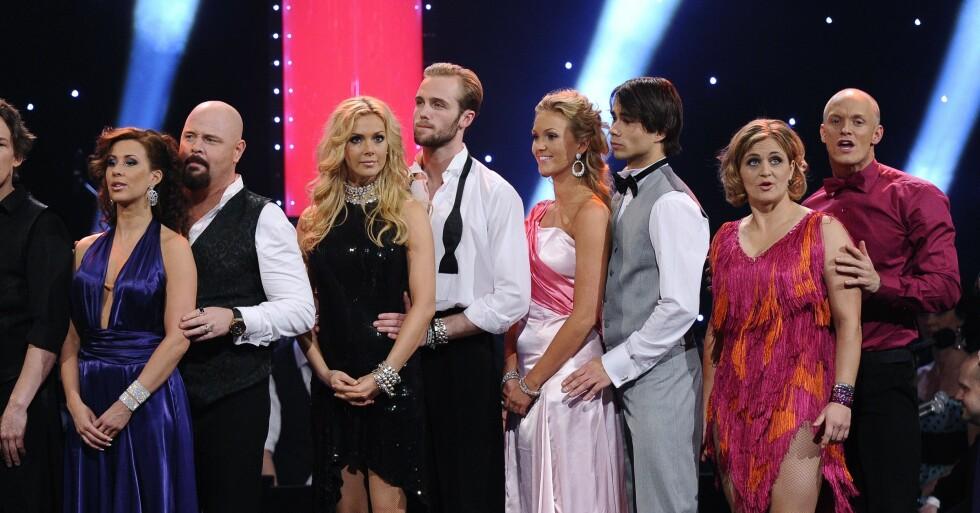 Alexander Rybak och Malin Johansson inledde en romans i Let's Dance 2014