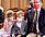 Furst Albert ensam med barnen prins Jacques Prinsessan Gabriella