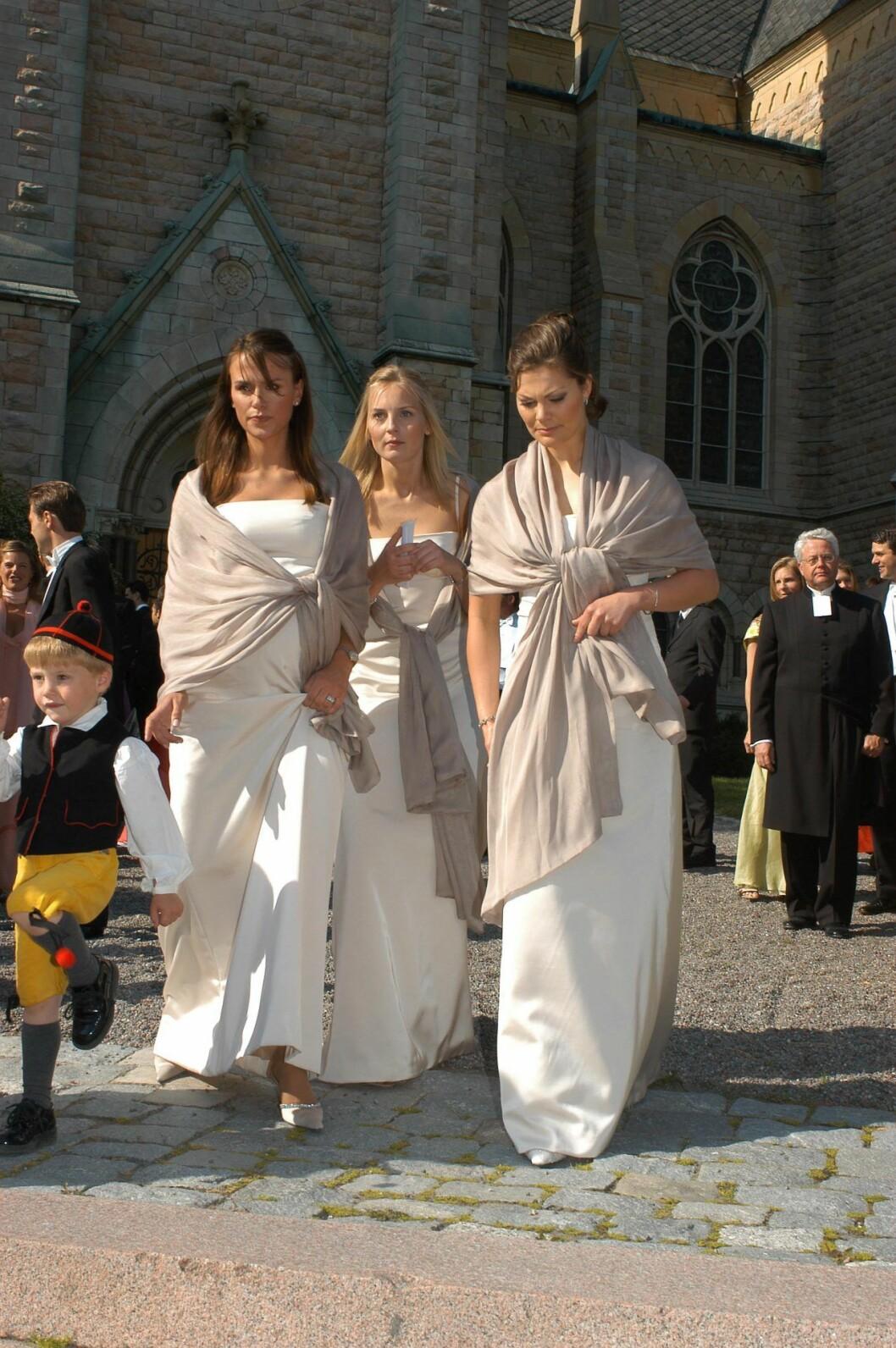 Vännerna Leonie, Rebecka Svensson och Victoria.
