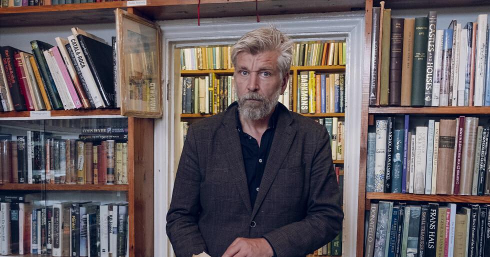 Karl Ove Knausgårds nya liv i London med kärleken Michal Shavit