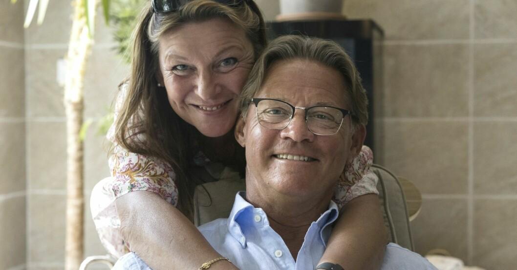 Mikael Sandströms privata liv med Lotta Engberg i lyxvillan