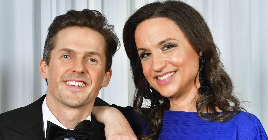 David Lindgren och Petra Mede