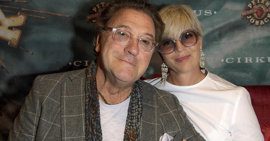 Tommy körberg med hustrun Ann-charlotte