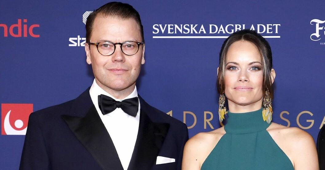 prins daniels stöd till prinsessan sofia