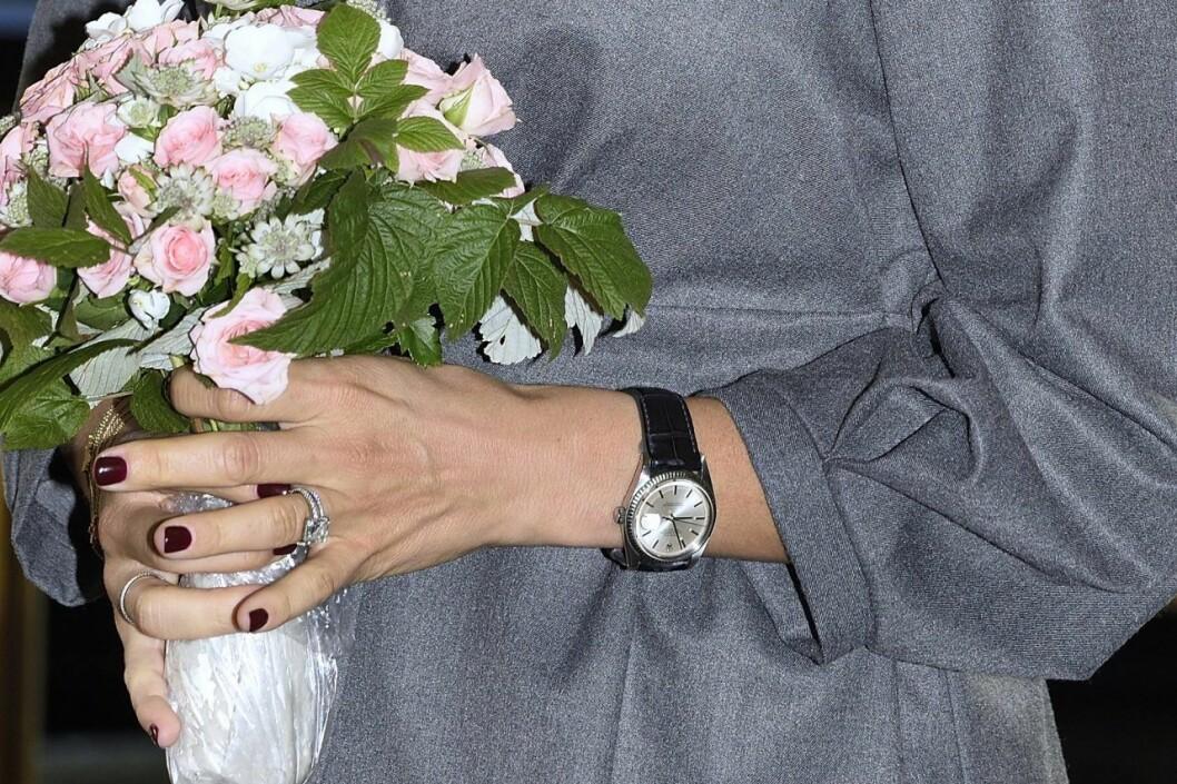 Madeleine fick en Rolex Datejust i gåva från Chris.