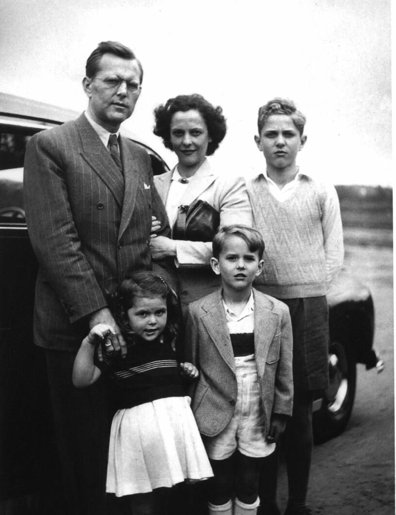 Familjen Sommerlath Walther Alice Silvia Jörg