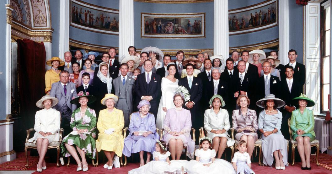 Spanska kungafamiljen