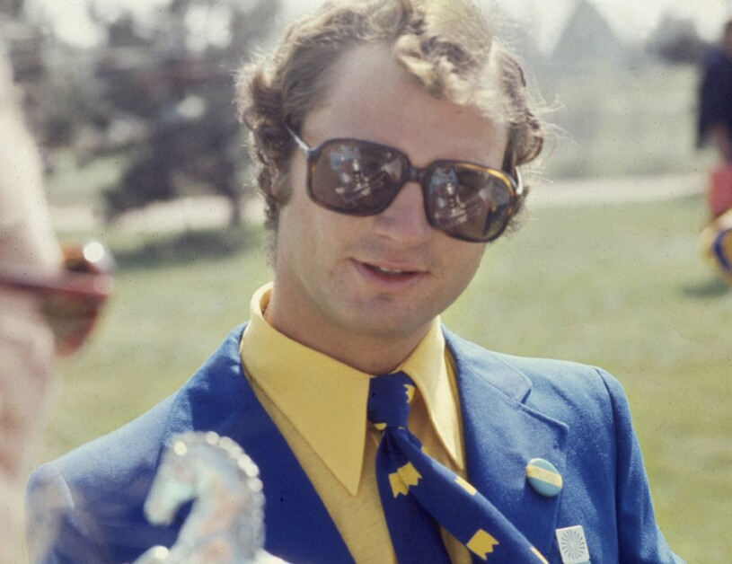 Kungen kronprins Carl Gustaf Kronprinsen Sommar-OS München 1972
