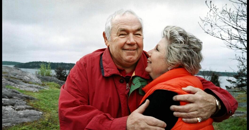 Ingemar Johansson och Edna Alsterlund