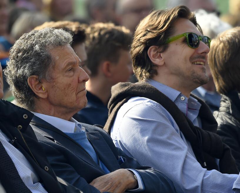 Drottning Silvias bror Walther Sommerlath med sin son Patrick Sommerlath