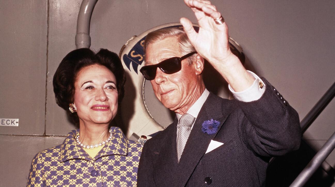 Wallis Simpson och kung Edvard