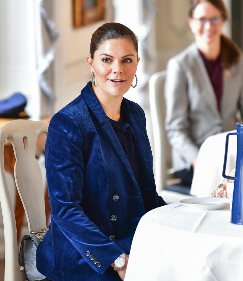 Kronprinsessan Victoria länsbesök Västerås Västmanland Prins Daniel sjuk