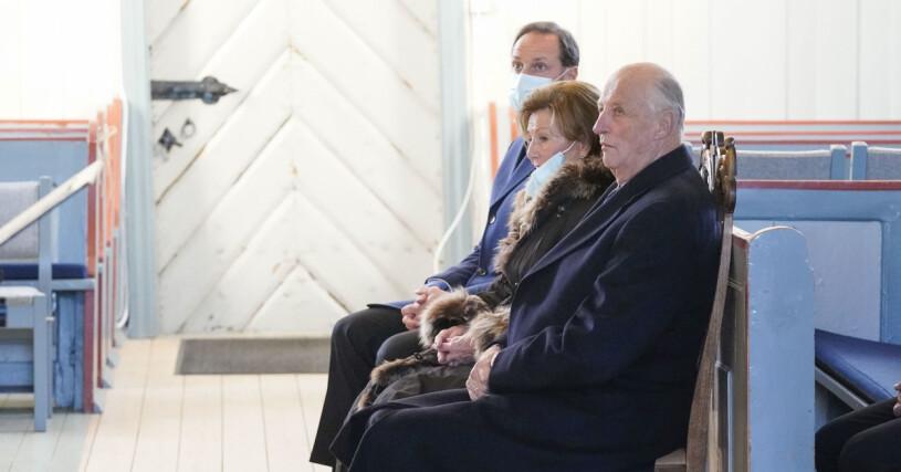 kung harald drottning sonja kronprins haakon