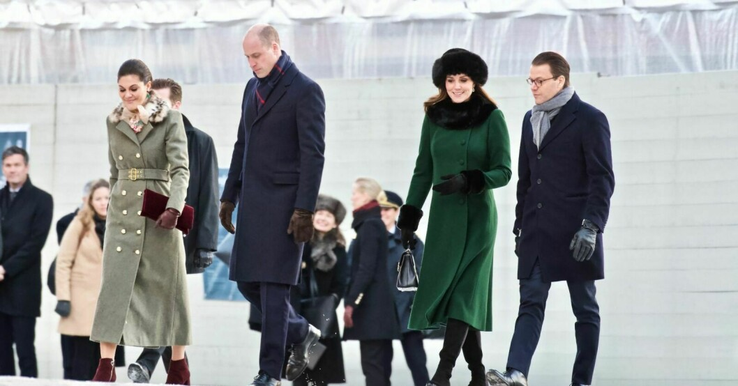 Kronprinsessan Victoria och Kate Middleton