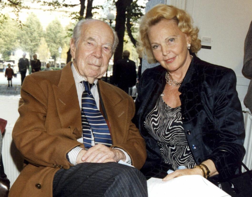Sigvard Bernadotte och Marianne Bernadotte.