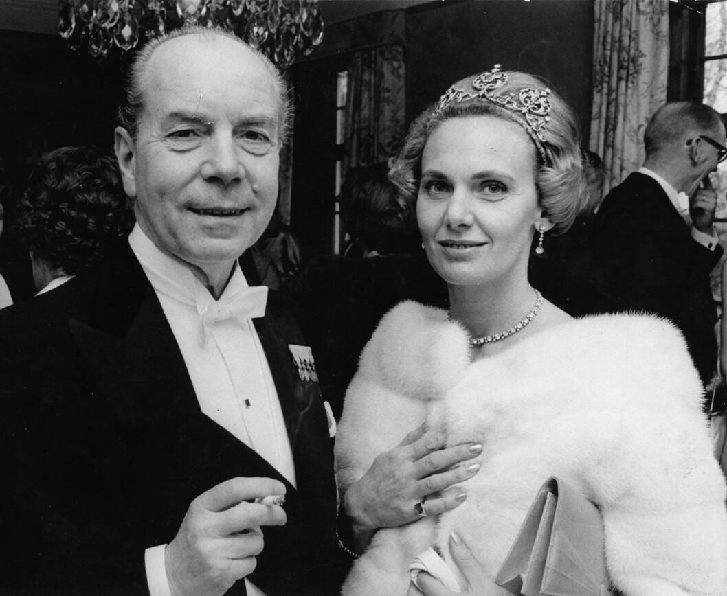 Sigvard Bernadotte och Marianne Bernadotte 1969.