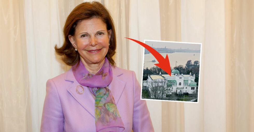 Drottning Silvia Monika Ahlberg lunch Thielska galleriet Stockholm