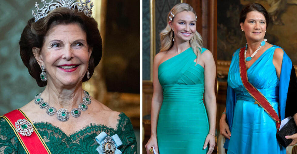 Drottning Silvia Ebba Busch Ann Linde