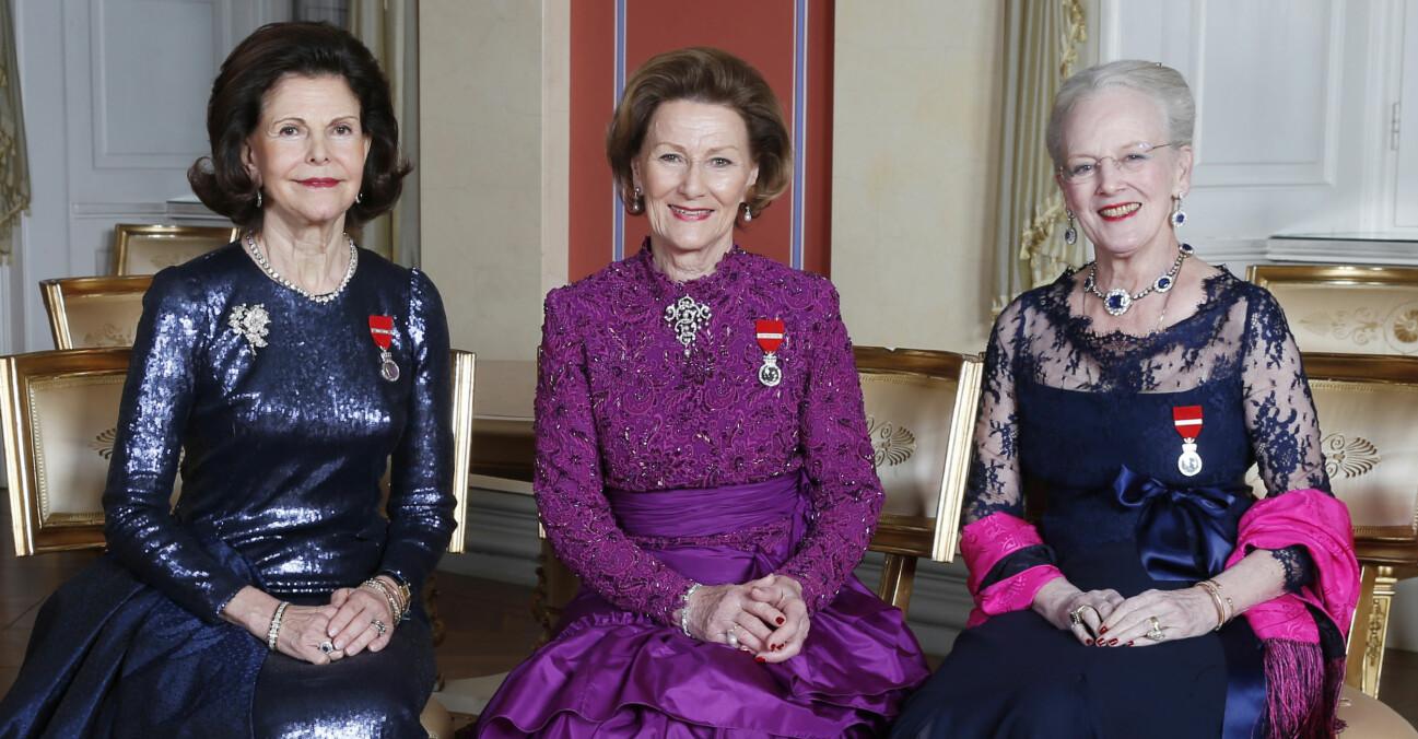 Drottning Silvia Drottning Sonja Drottning Margrethe