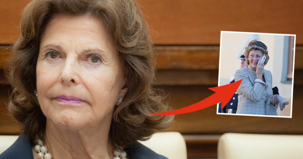 Drottning Silvia Kirstine von Blixen-Finecke
