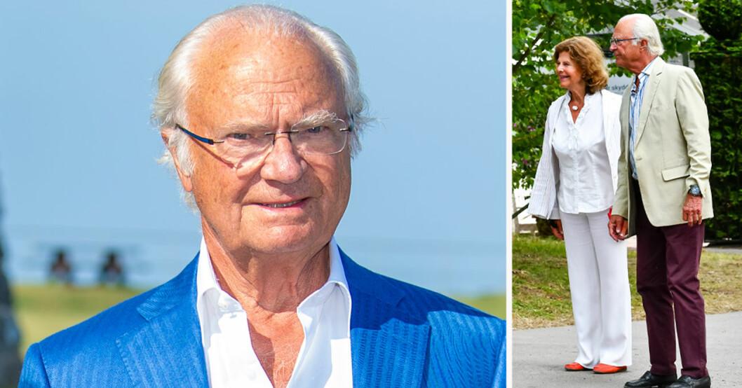 Kung Carl Gustaf och drottning Silvia