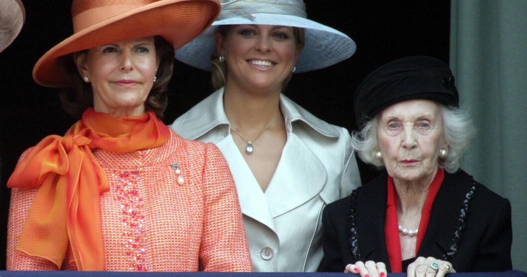 Drottning Silvia, prinsessan Madeleine, prinsessan Lilian