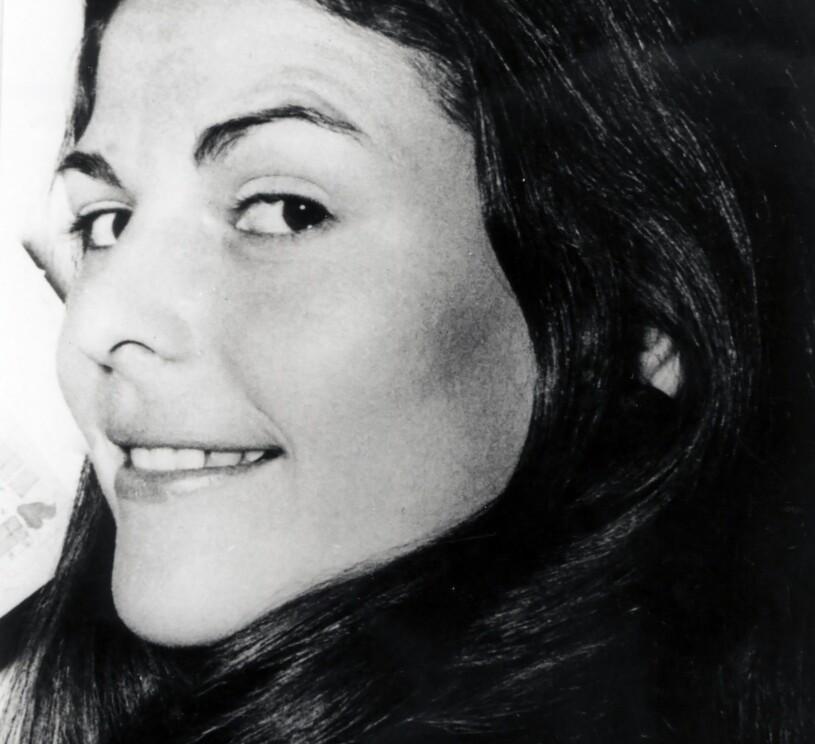 Silvia Sommerlath som ung