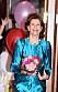 Drottning Silvia firas på Vasateatern av Lilla Akademien.