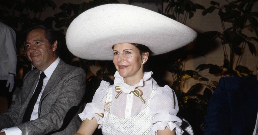 Silvia vit hatt
