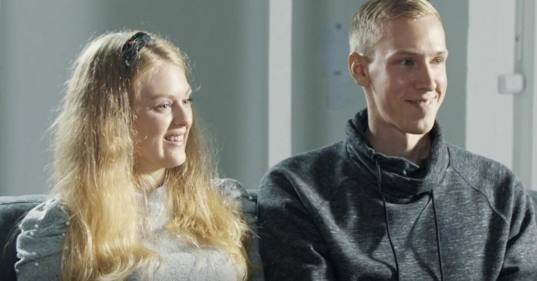 Sofia Lindhe och Anton Pehrson blev ett par i Gift vid första ögonkastet 2021