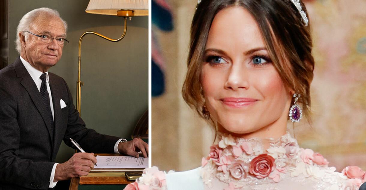 Kung Carl Gustaf Prinsessan Sofia