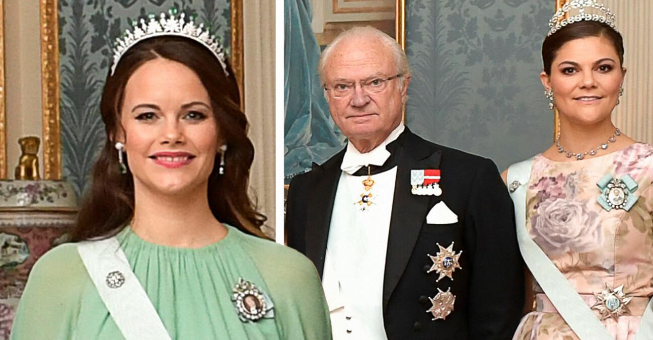 Kungen Prinsessan Sofia Kronprinsessan Victoria