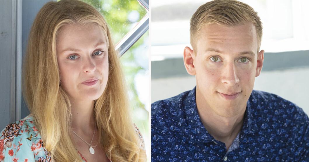Sofia Lindhe och Anton Pehrson