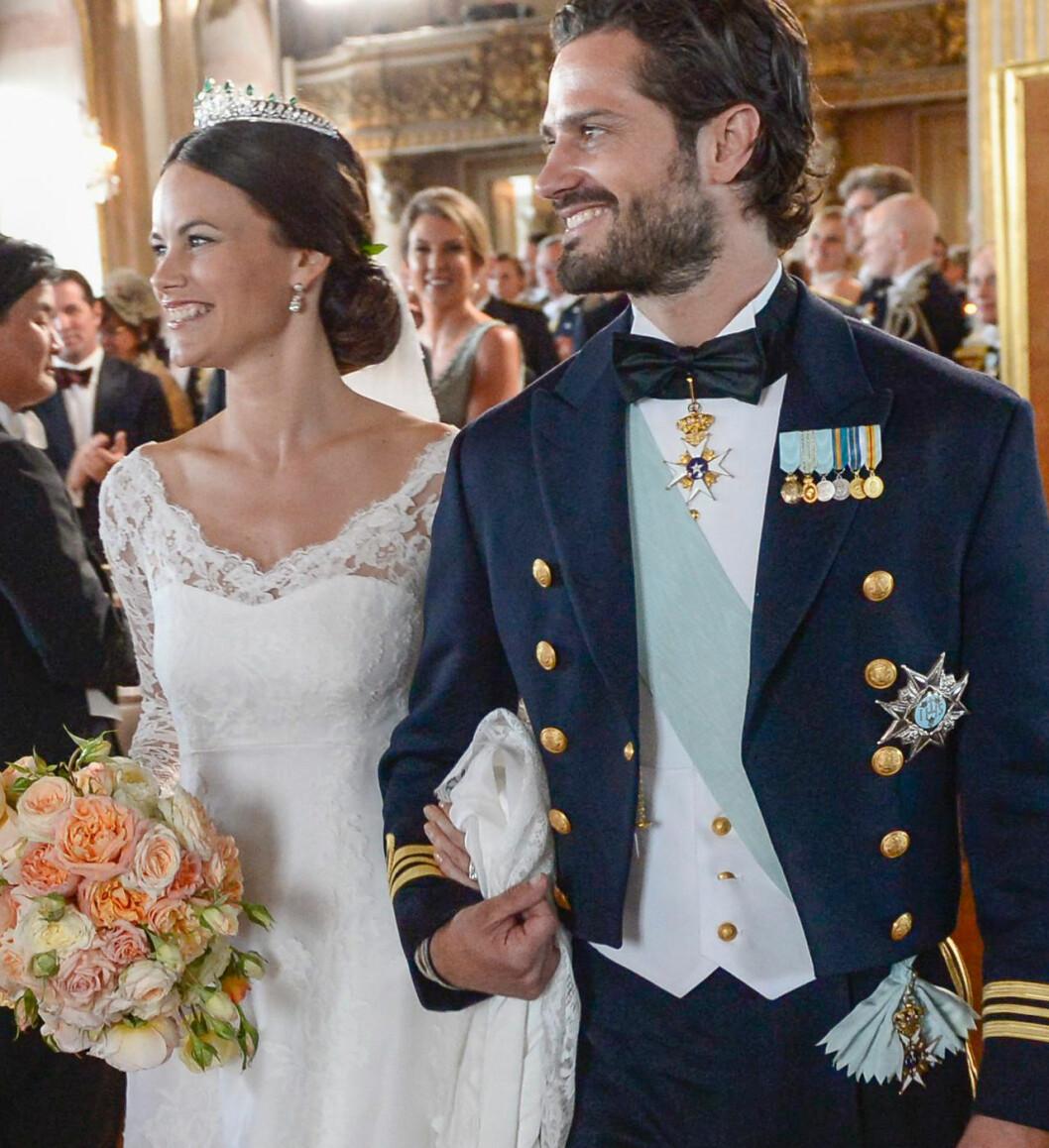 Prinsessan Sofia prins Carl Philip bröllopet 2015