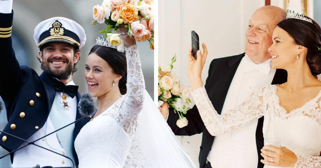 Prinsessan Sofias privata bröllopsbilder på 5-åriga bröllopsdagen